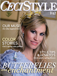 CeciStyle Magazine V41: Butterflies and Enchantment