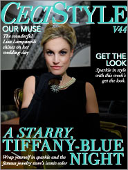 CeciStyle Magazine v44: A Starry, Tiffany-Blue Night
