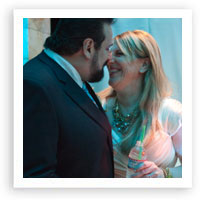 V44: Our Muse – New York City Wedding: Lisa Lampanelli & Jimmy, Part 1