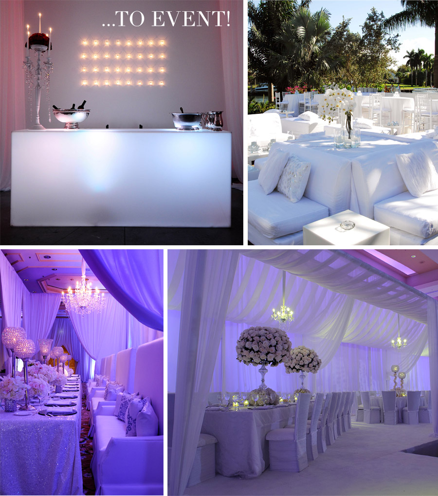 V46 expert style tips tips for designing white events for Summer white party ideas