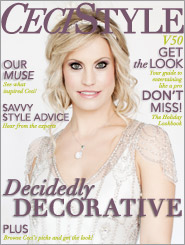 CeciStyle Magazine v50: Decidedly Decorative