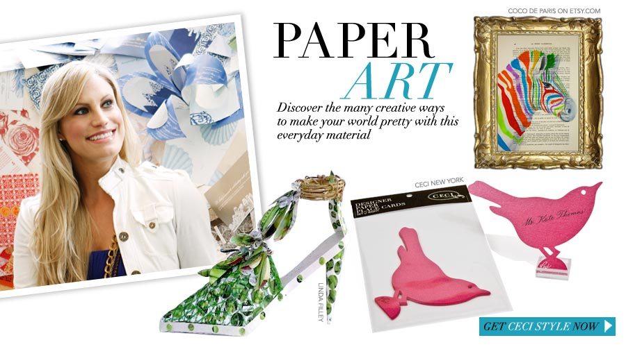 Paper Art - Discover the many creative ways to make your world pretty with this everyday material