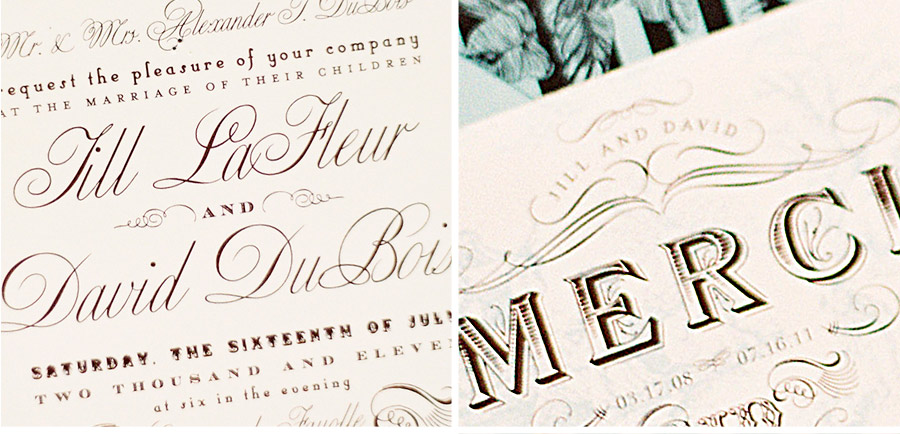 Luxury Wedding Invitations by Ceci New York - Our Muse - Be inspired by this elegant wedding in black and white - wedding, invitations, letterpress printing, offset printing, digital printing, die cutting