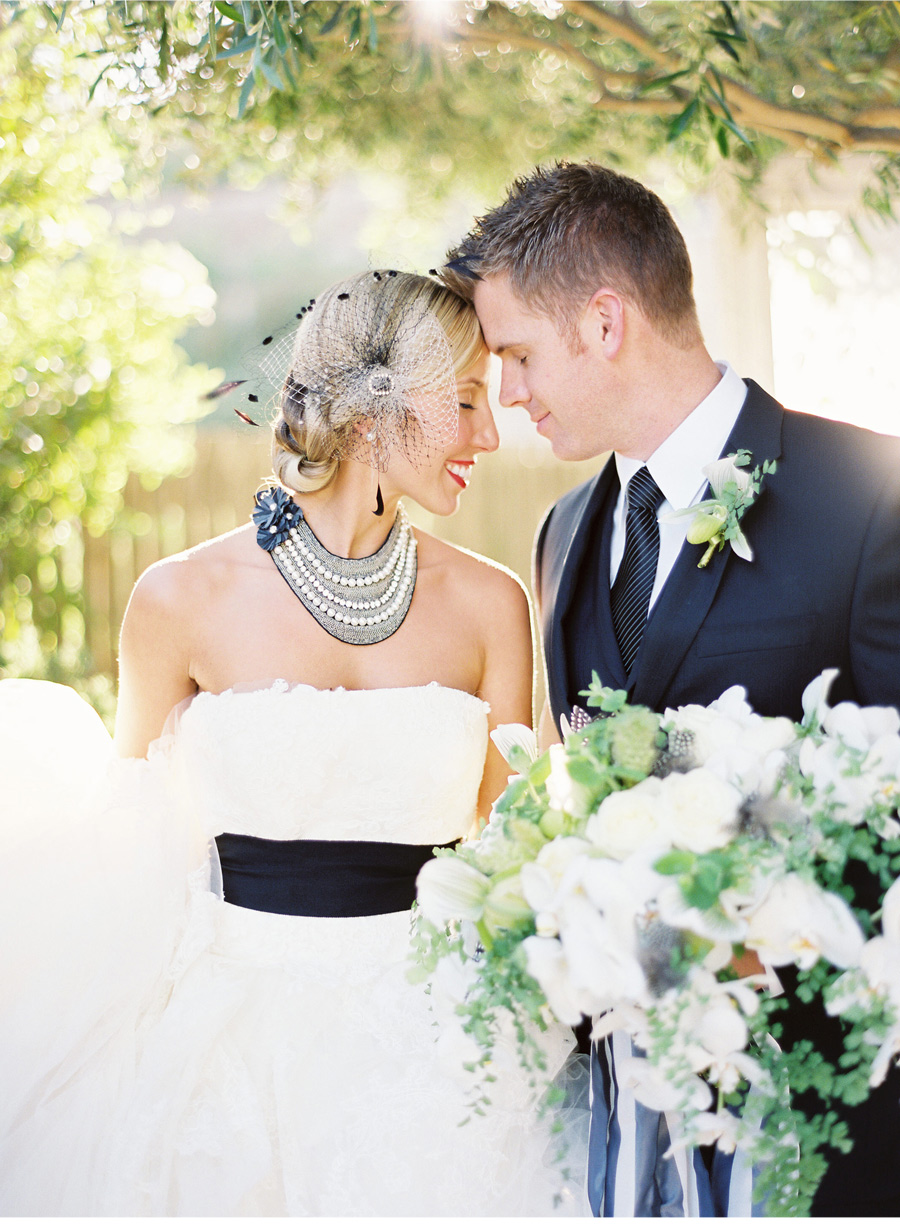 Our Muse - Wedding Photos - Be inspired by this elegant wedding in black and white