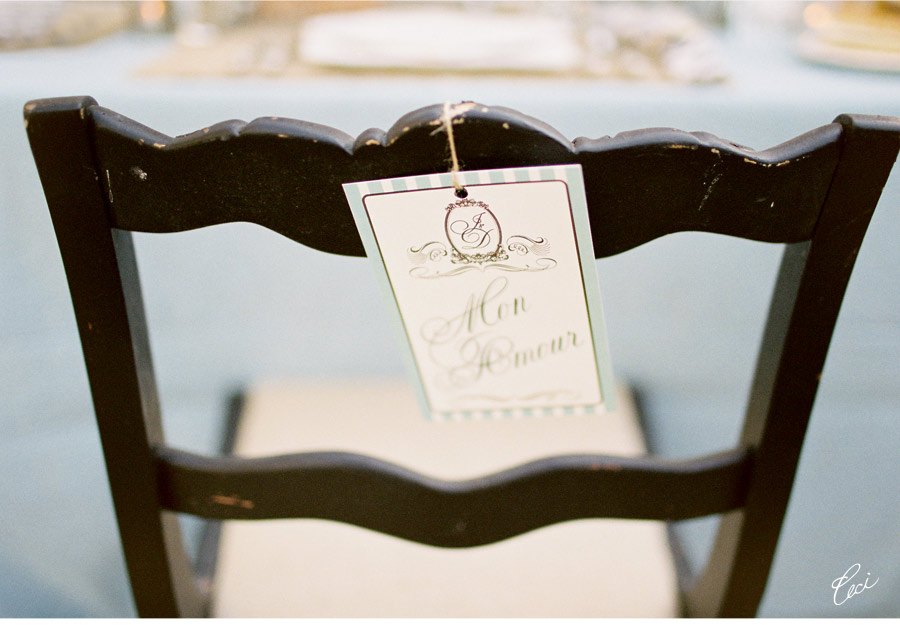 Our Muse - Wedding Photos - Be inspired by this elegant wedding in black and white - wedding, table signs, signs, programs
