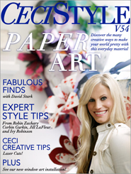 CeciStyle Magazine V54: Paper Art