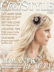 CeciStyle Magazine V60: Romantic Beauty
