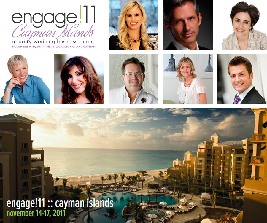 Ceci Johnson at engage!11 :: Cayman Islands - a luxury wedding business summit - November 14-17, 2011 - The Ritz Carlton Grand Cayman