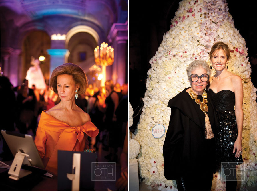 Our Muse - The Knot 15th Anniversary Gala at the New York Public Library - Sylvia Weinstock & Carley Roney - Be inspired by this classically-styled wedding industry event - event, wedding, appearances, ceci johnson