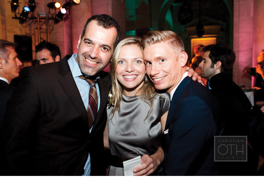 Our Muse - The Knot 15th Anniversary Gala at the New York Public Library - Eyal Tessler, Gabriella Risatti & Mark Niemierko - Be inspired by this classically-styled wedding industry event - event, wedding, appearances, ceci johnson