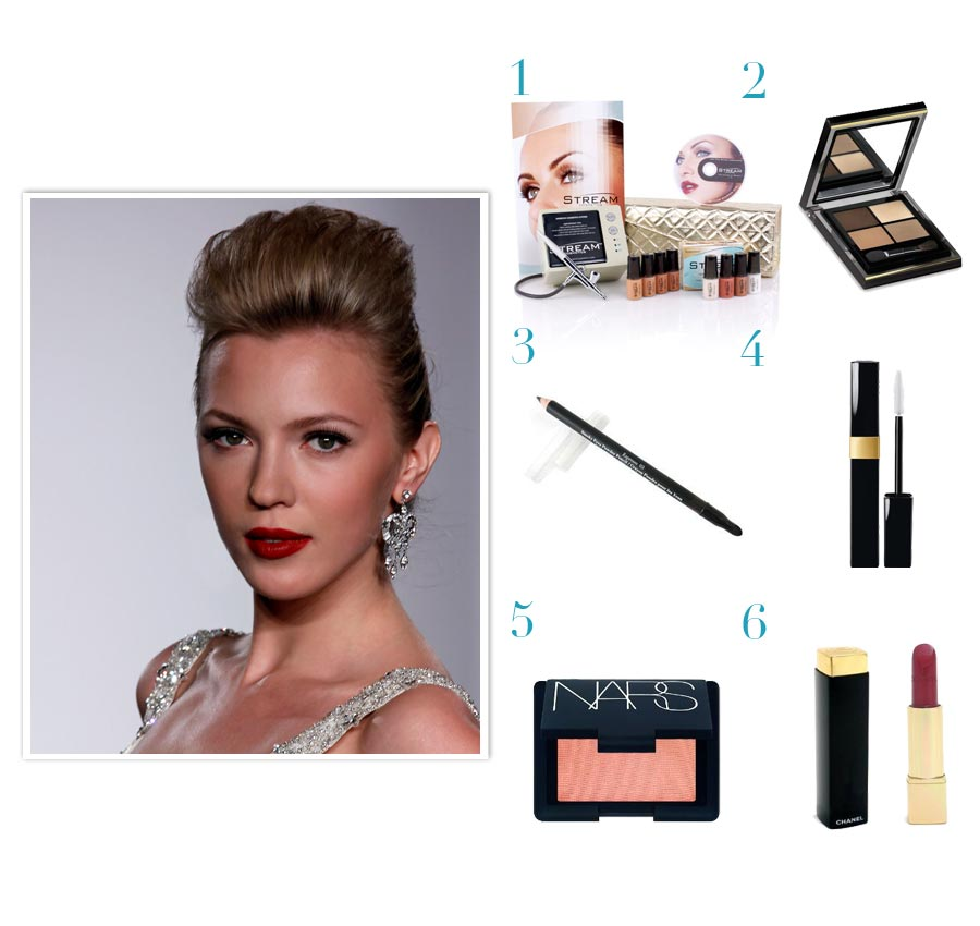 Glamourous Halloween Makeup Tips by Eve Kleimenova - Look #5: Bridesmaids