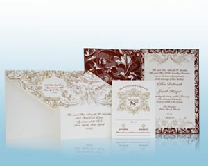 Venetian - Wedding Invitations - Ceci New York for The Breakers Collection