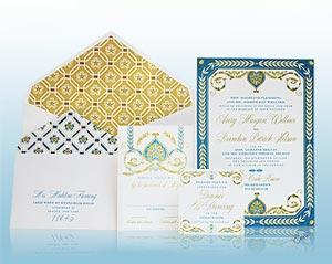 Royal Palazzo - Wedding Invitations - Ceci New York for The Breakers Collection