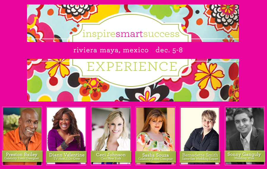 Ceci Johnson Guest Speaker at Inspire Smart Success Experience: Mexico - Riviera Maya, Mexico - December 5-8, 2011