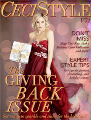 CeciStyle Magazine V71: The Giving Back Issue