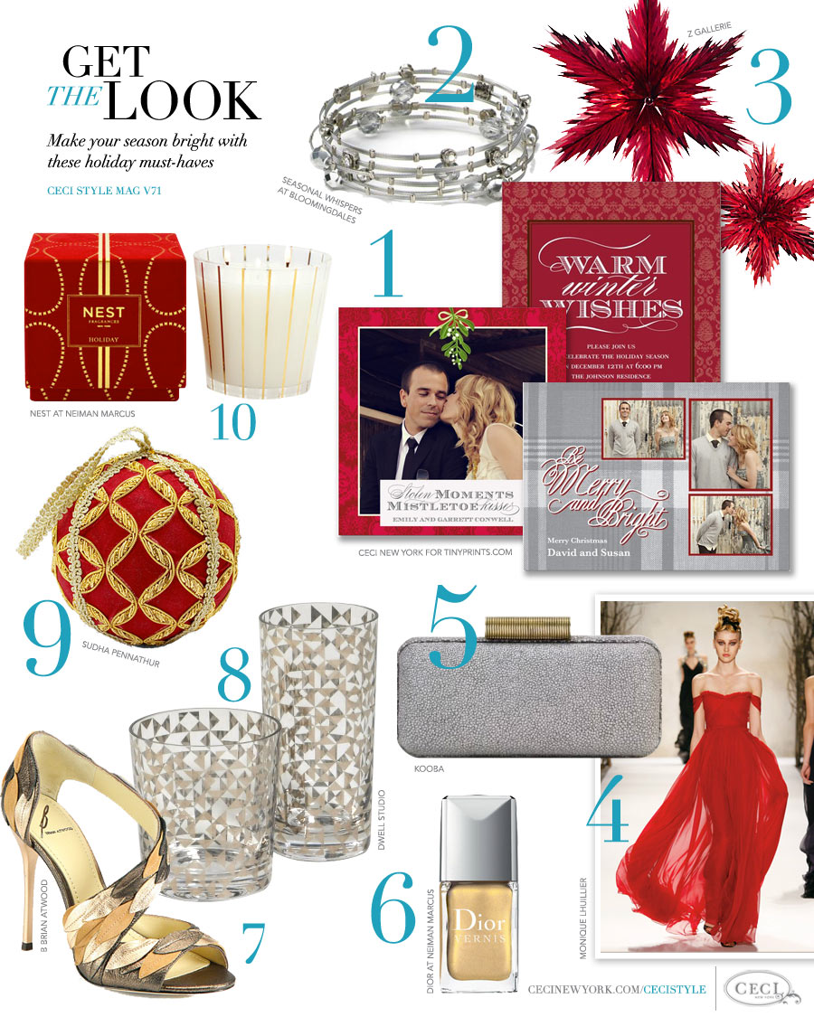 CeciStyle Magazine v71: Get The Look - Giving Back - Make your season bright with these holiday must-haves