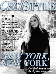 CeciStyle Magazine V76: New York, New York