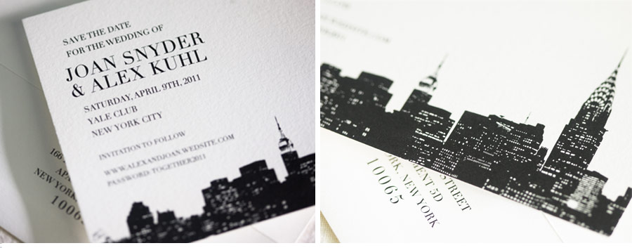 v76_om_1b v76 our muse classic new york city wedding joan & alex, part 1,Invitations New York