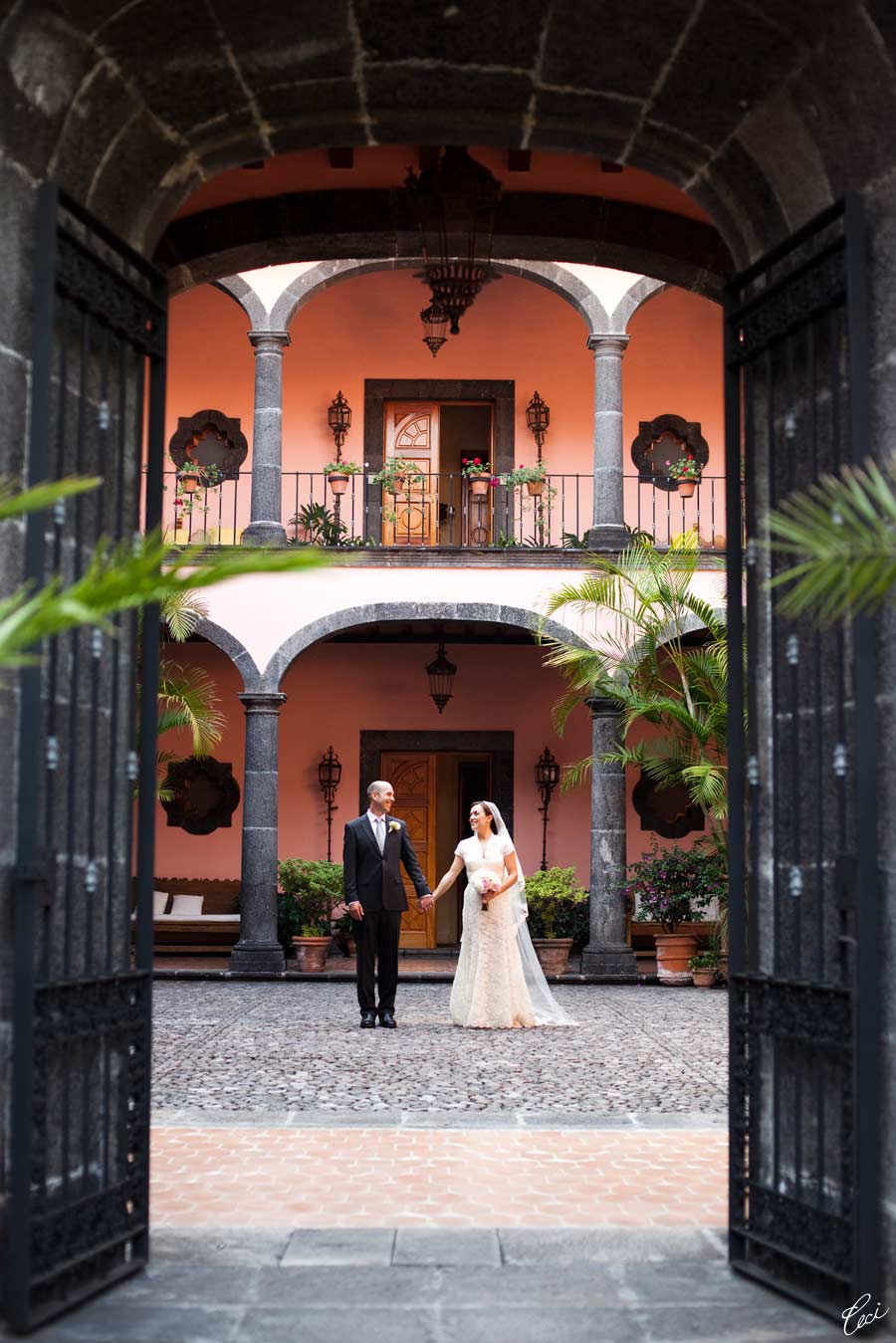 Our Muse - Elegant Mexican Wedding - Be inspired by Xochitl and Mark's elegant Mexican wedding- wedding, invitations