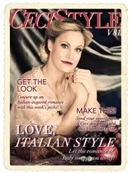 CeciStyle Magazine V81: Love, Italian Style