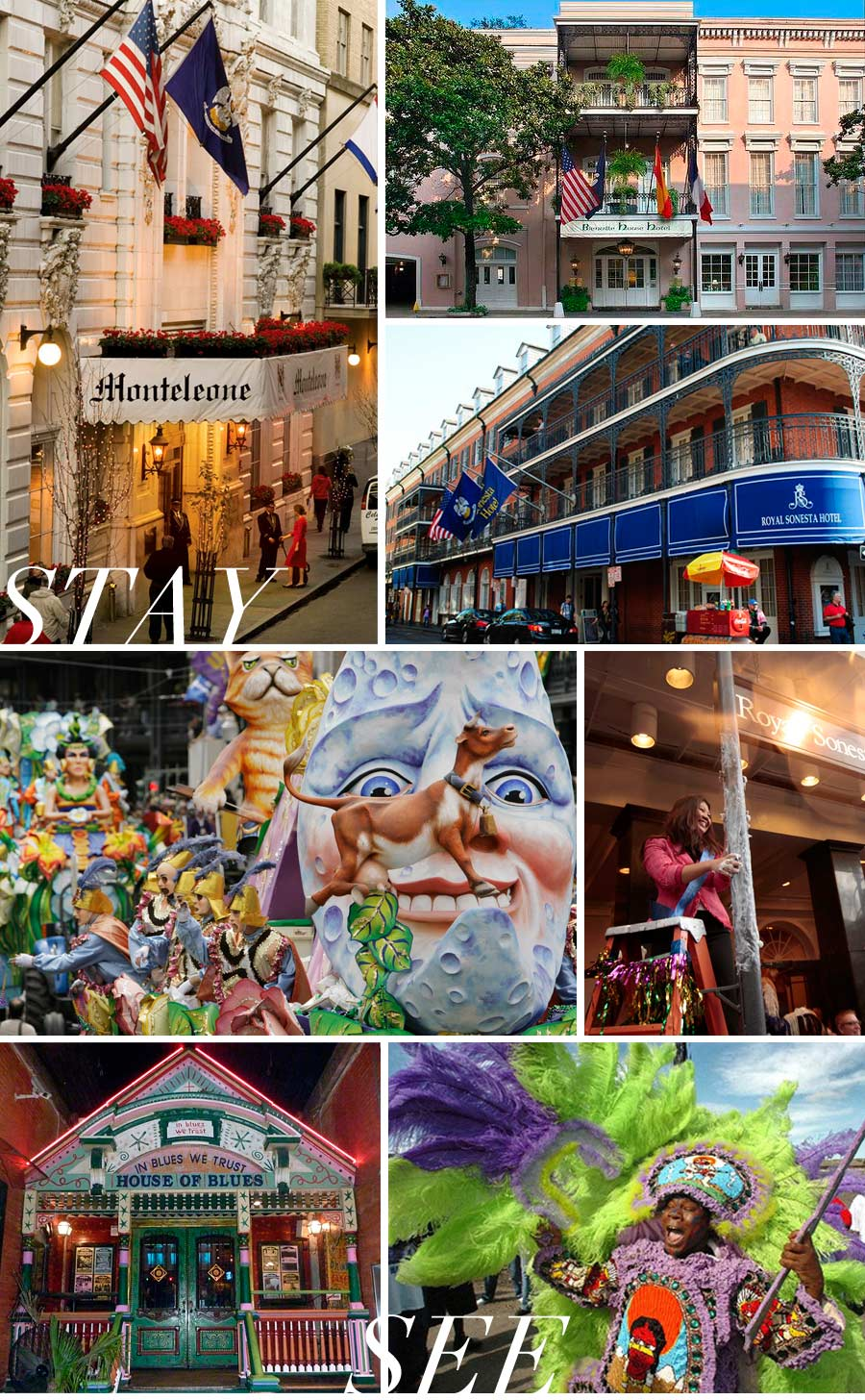 Guide to Mardi Gras in New Orleans by Dawnne Keeney
