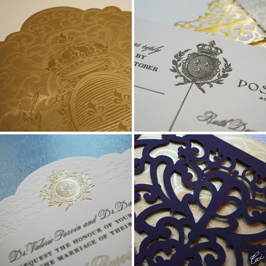 v82 our muse festive new orleans wedding ruth michael part 1 michaels wedding invitations Luxury Wedding Invitations by Ceci New York Our Muse Festive New Orleans Wedding