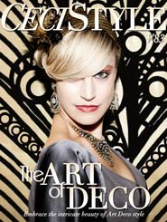 CeciStyle Magazine V83: The Art of Deco