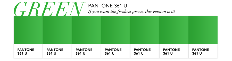 Safety Green Pantone And Safety Green is a