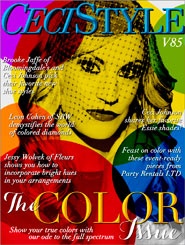 CeciStyle Magazine v85: The Color Issue