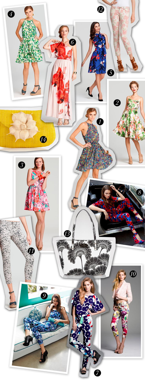Spring Floral Print Dresses by Brooke Jaffe, Bloomingdale's