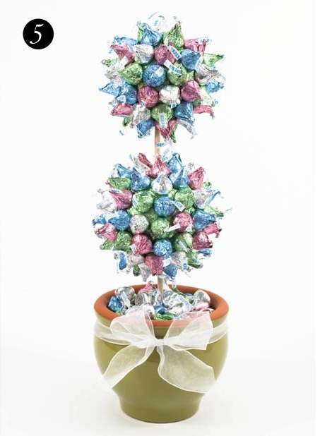 Candy topiary - Top 5 Creative Tips for Easter by Dylan Lauren, Dylan's Candy Bar - Top 5 Creative Tips for Easter by Dylan Lauren, Dylan's Candy Bar