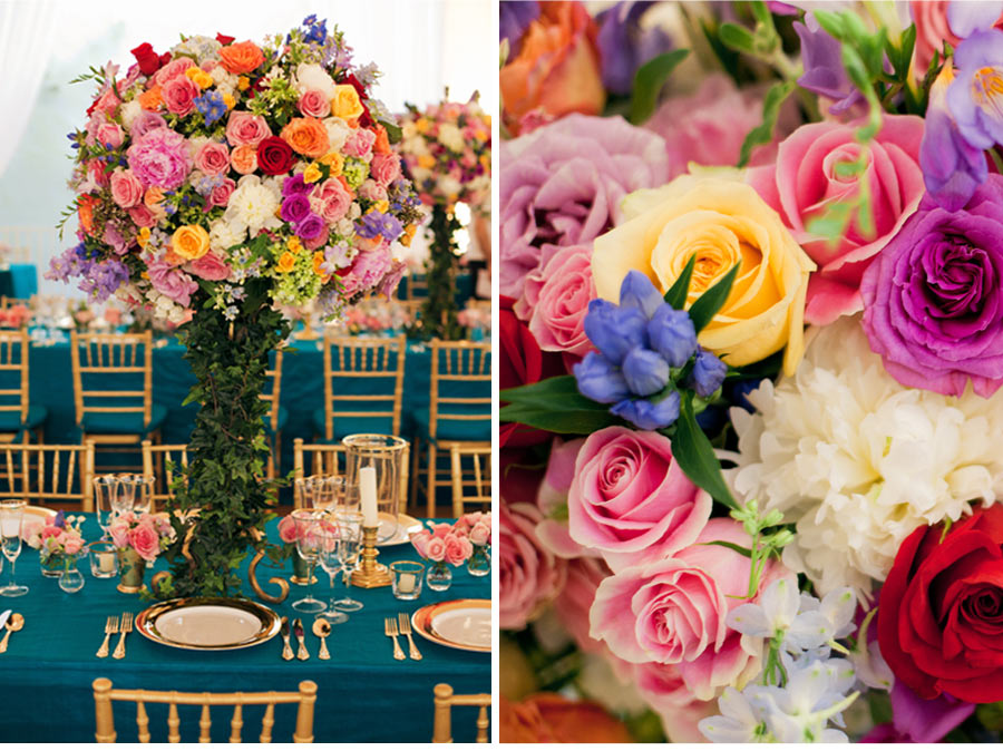 Our Muse - Candy-Colored Wedding - Be inspired by Dylan Lauren & Paul's candy-colored wedding - wedding, menus