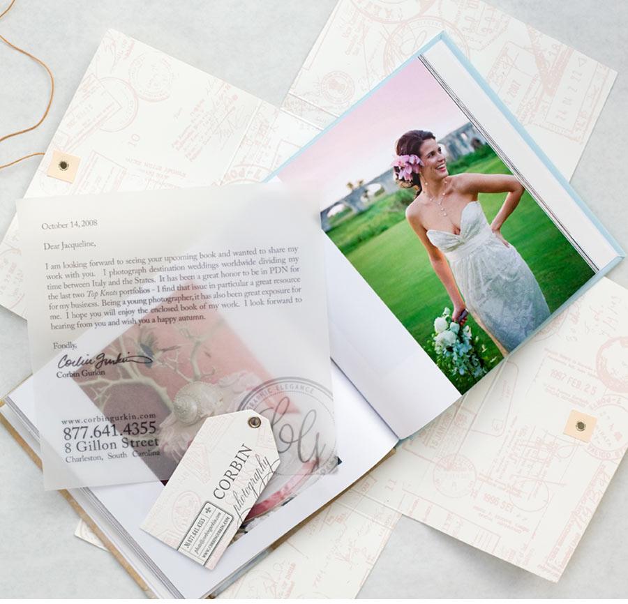 Our Muse - Corbin Gurkin Photography Branding - Be inspired by the elegant branding of Corbin Gurkin Photography - branding, letterpress printing, digital printing