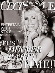 CeciStyle Magazine V9: It's Dinner Party Time!
