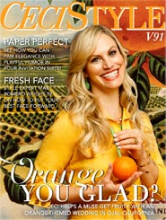 CeciStyle Magazine v91: Orange You Glad?
