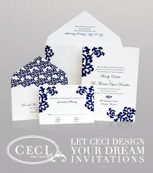 Let Ceci design your dream invitations