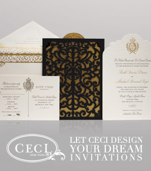 Let Ceci design your dream invitations