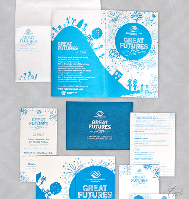 Boys &amp; Girls Clubs of America - Event Invitations - Corporate - Ceci Event - Ceci New York