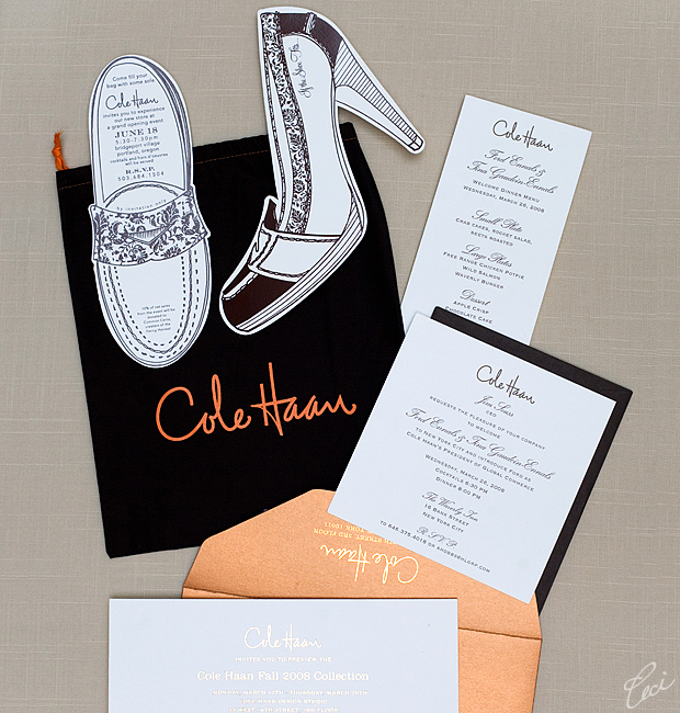 Cole Haan - Event Invitations - Corporate - Ceci Event - Ceci New York
