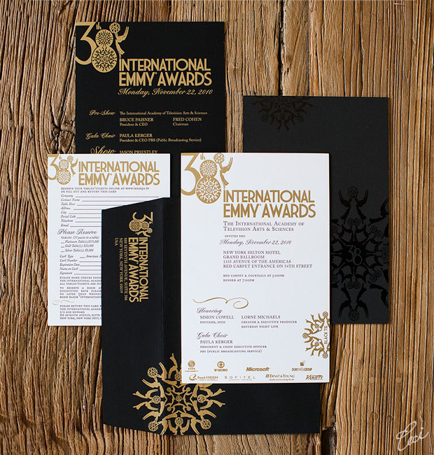 Emmy Awards - Event Invitations - Corporate - Ceci Event - Ceci New York