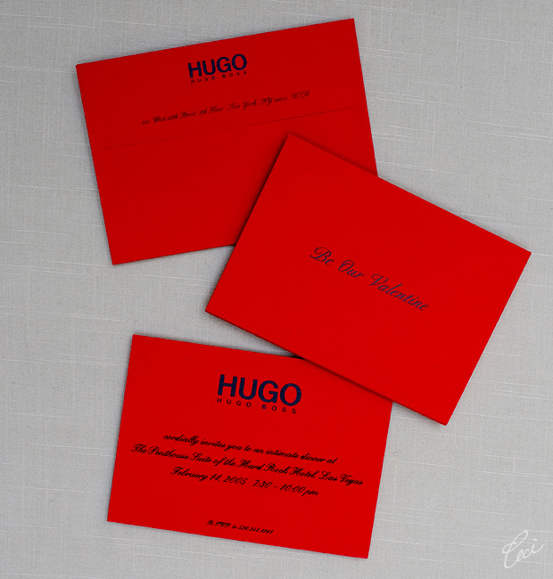 Hugo Boss - Event Invitations - Corporate - Ceci Event - Ceci New York