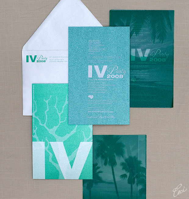 St. Vincent Foundation - Event Invitations - Corporate - Ceci Event - Ceci New York