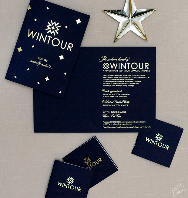 Wintour - Event Invitations - Corporate - Ceci Event - Ceci New York