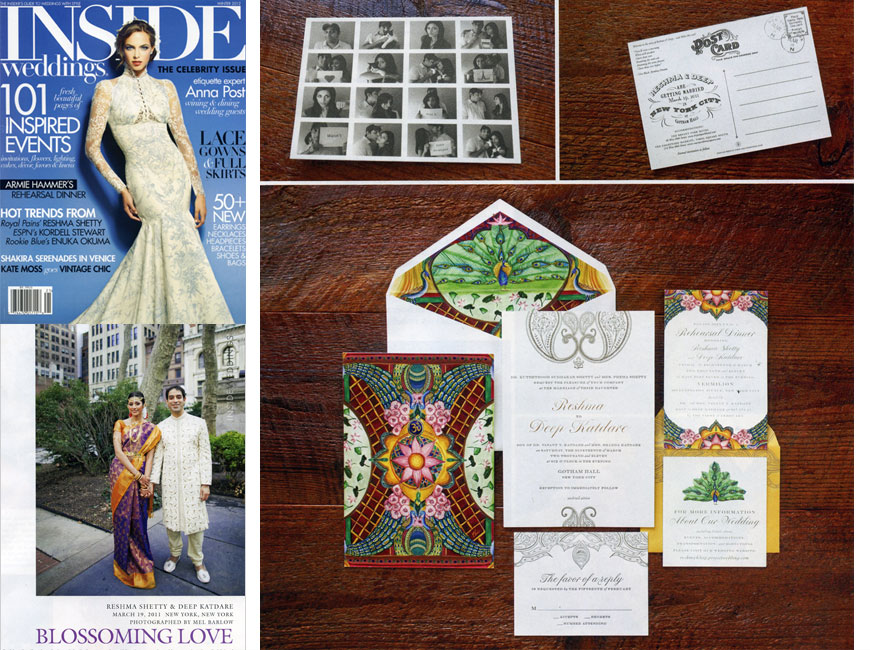 Inside Weddings - Winter 2012 - Press - Ceci New York