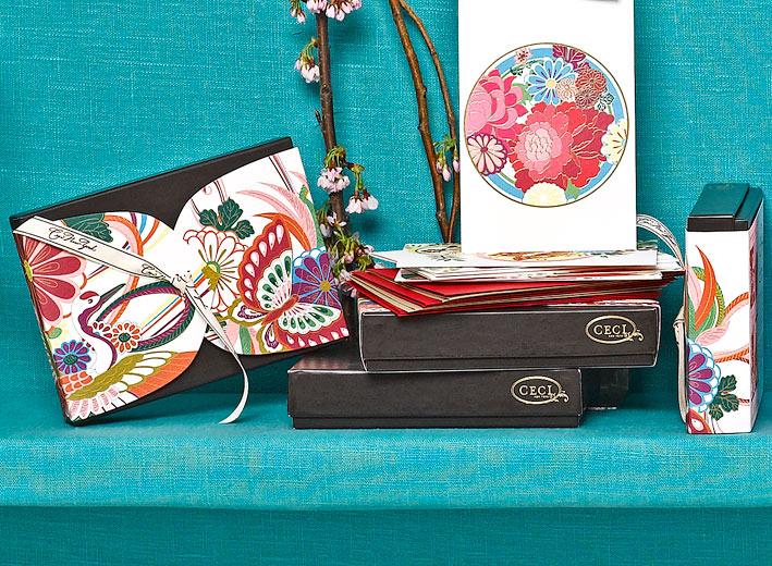 Lotus Butterfly -  Kimono -  Fine Stationery - Shop Ceci - Ceci New York