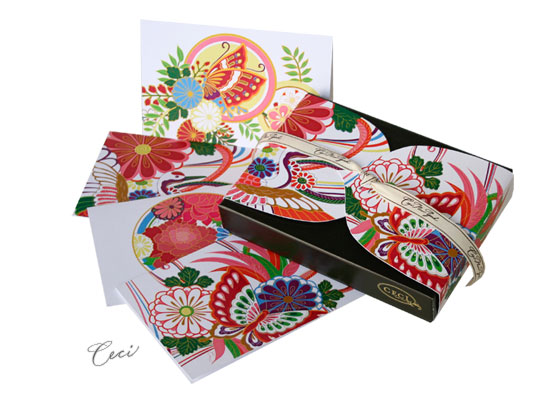 Lotus Butterfly - Kimono - Fine Stationery - Shop Ceci - Ceci New York