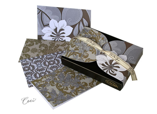 Precious Metal - Metallic - Fine Stationery - Shop Ceci - Ceci New York