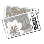 Precious Metal - Postage Stamps - Metallic - Fine Stationery - Shop Ceci - Ceci New York