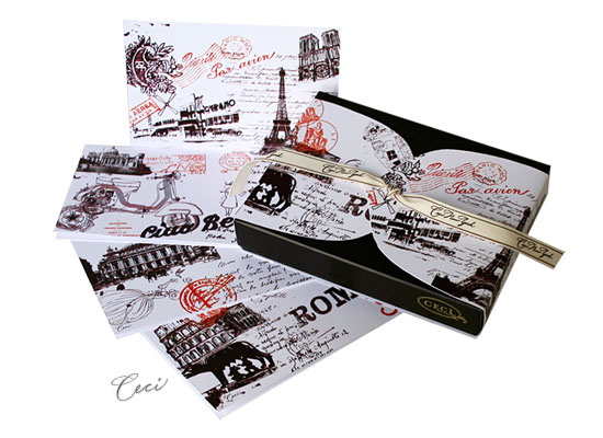 Paris/Rome - Passport - Fine Stationery - Shop Ceci - Ceci New York