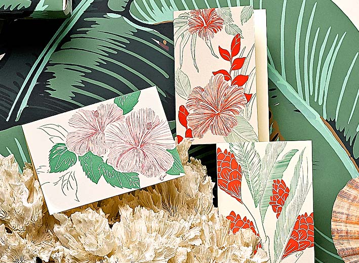 Paradise -  Resort -  Fine Stationery - Shop Ceci - Ceci New York